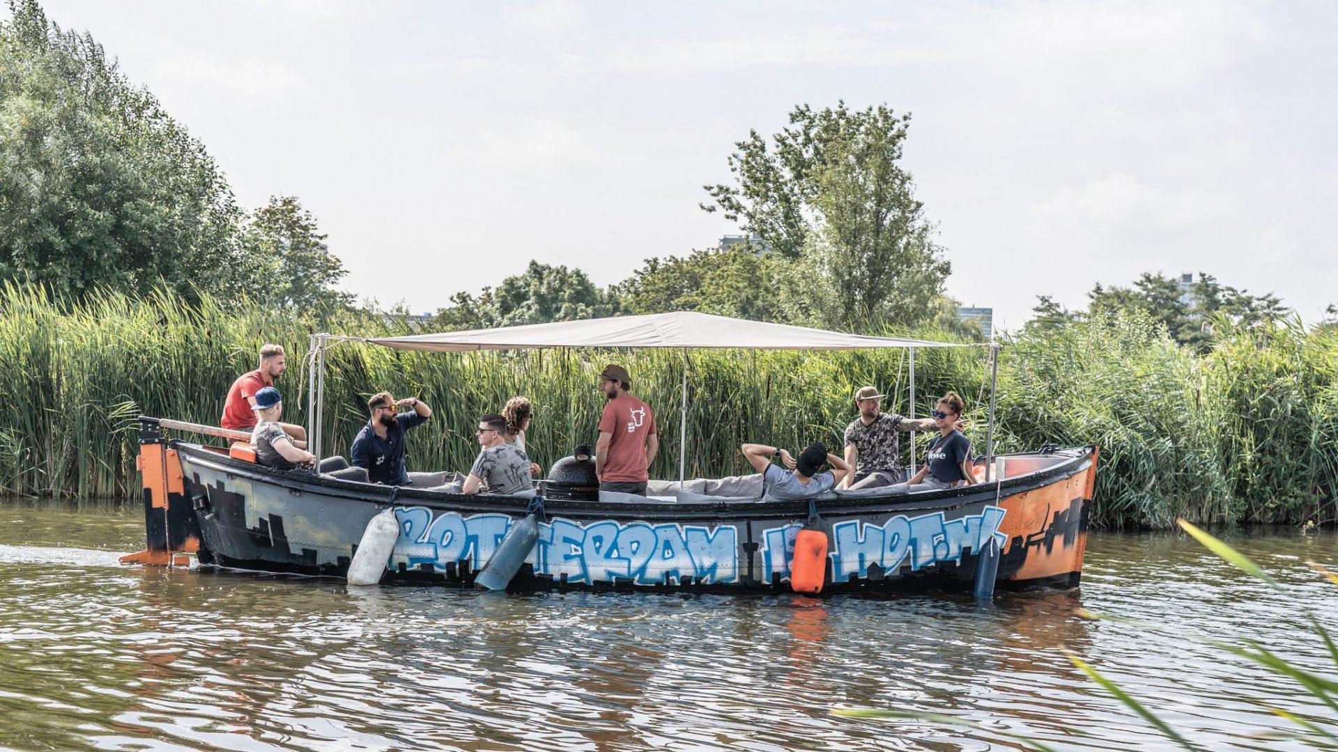 Varen & BBQ'en bij Rotterdam is Hot